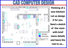Z3=CAD  KITCHEN DESIGN by BARTLETTS - K.F.Bartlett LtdCatering equipment, refrigeration & air-conditioning