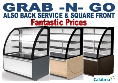 FOOD TO GO CALABRIA CABINETS...